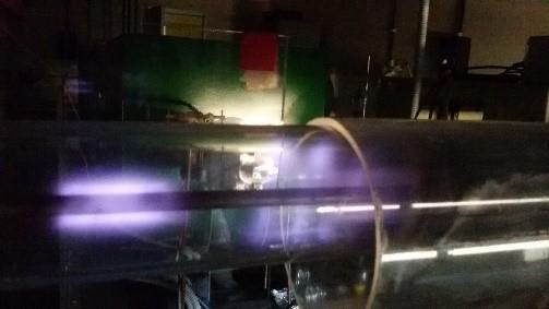 Fig. 1   Reattore al plasma per la produzione di combustibili rinnovabili 'drop-in'