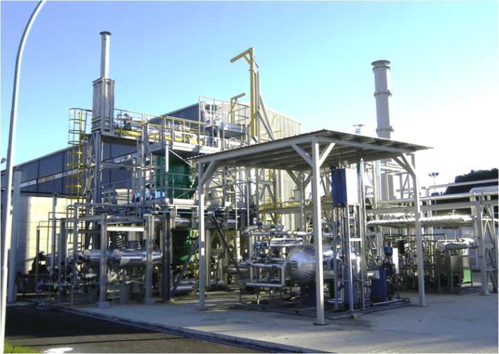 Fig. 2   Infrastruttura di Ricerca Europea ZECOMIX per lo studio del processo di cattura della CO2 attraverso un processo di carbonatazione