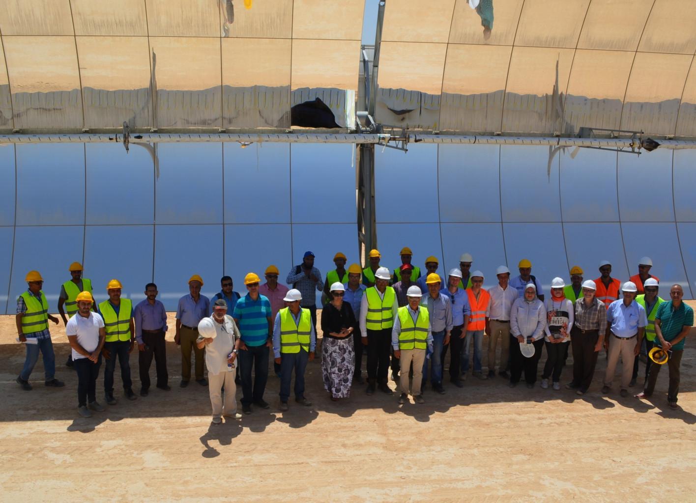 Inaugurazione centrale solare termodinamica